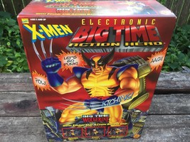 Toy Biz Electronic Big Time Action Hero X-MEN Wolverine Sound & Action N... - $49.45