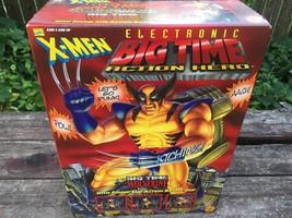 Toy Biz Electronic Big Time Action Hero X-MEN Wolverine Sound & Action NRFB MIB - $49.45