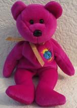 Ty Beanie Millennium Bear No Hang Tag - $5.34