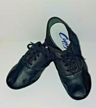 Capezio 358C Black Lace Split-Sole Jazz Shoe Child Size 2M 2 M  - $29.74