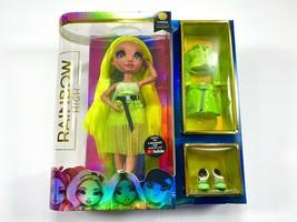 Rainbow High Karma Nichols Wave 2 Neon Green Fashion Doll Brand New - $49.99