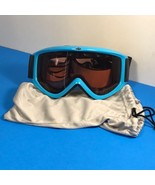 SCOTT GOGGLES WINTER SPORTS MOTOCROSS OFF ROAD SUNGLASSES BLUE BLACK CAS... - $24.75