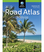 USA Road Atlas 2022 Best Midsize Large Scale Travel Maps Paperback NEW - $11.08
