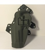 VINTAGE GUN FIREARM PISTOL HOLSTER COLLECTIBLE MILITARY BLACKHAWK! GREEN... - $25.74