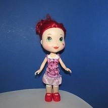 "Strawberry Shortcake large 11"" doll 2008 hasbro TCFC plastic vinyl - $9.99"