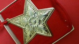 1996 Lunt Sterling Silver Star Ornament in Orig... - $79.00