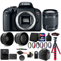 Canon EOS Rebel T7i / 800D 24.2MP DSLR Camera with 18-55mm and 32GB Acce... - $848.07