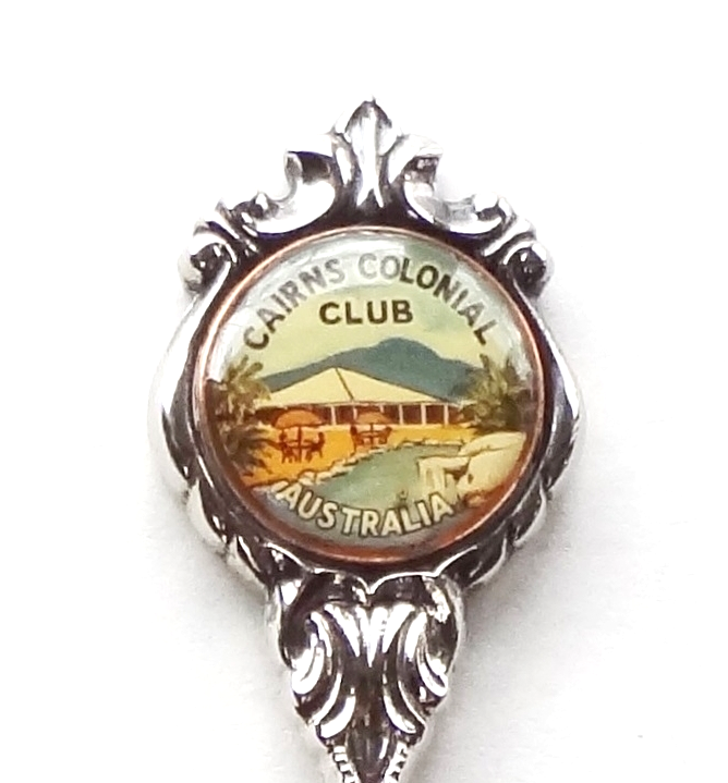 Primary image for Collector Souvenir Spoon Australia Queensland Cairns Colonial Club
