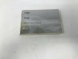 2018 Chevy Silverado Owners Manual Handbook OEM Z0A1038 - $63.35