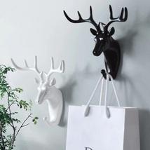 Wall Coat Rack Home Wall Decoration Animal Head Coat Rack Deer Wall Coat... - $9.99