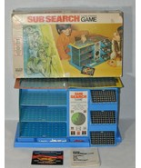 Vintage Sub Search 3 Level Strategy Board Game Milton Bradley Appears Complete! - $49.49
