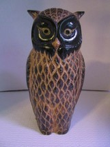 """Vintage Ceramic OWL 8"""" Figure Fine Detailing Great for Patio or Home Dis... - $17.65"""