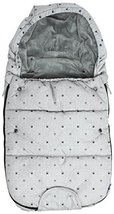 Dooky Universal Baby Stroller Sleeping Bag footmuff Small 3-9 Months Grey Crowns