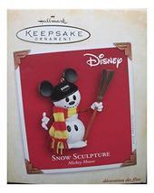 Snow Sculpture Mickey Mouse 2004 Hallmark Keepsake Ornament - $11.56