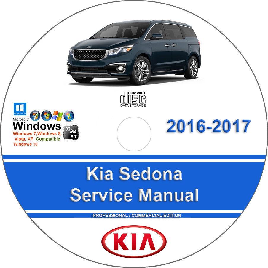 Kia Sedona 2016-2017 3.3L Factory Workshop and 50 similar items. 004