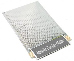 Metallic Glamour Bubble Mailers Padded Envelopes Shipping Mailing Bags S... - $229.27