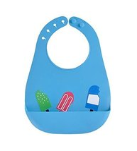 (Blue) Fashionable Water-Repellent Comfortable Baby Bib/Pinafore for Baby
