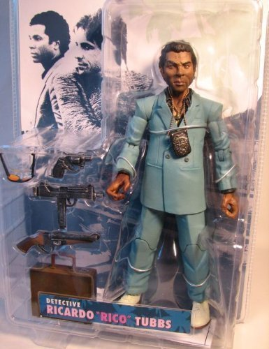 "Miami Vice TV Ricardo ""Rico"" Tubbs Action Figure (Teal Suit)"