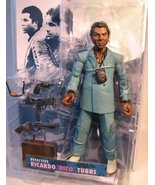 "Miami Vice TV Ricardo ""Rico"" Tubbs Action Figure (Teal Suit) - $54.45"