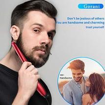 Beard Straightener Brush Comb for Men, Ergonomic Beard Brush Straightening Elect image 5