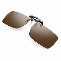 a013777cb4 CEETOL Clip On Polarized Sunglasses for Men Women Day Night Anti Glare U..