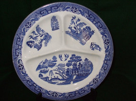 Blue Willow Grille Plate - $20.00