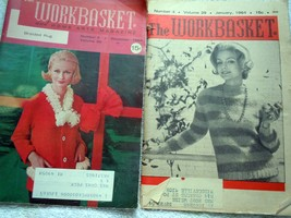 Vintage the Workbasket January 1964 & December 1964 - $5.99