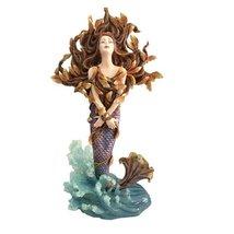 Metamorphosis Shelia Wolk Statue Koi Fish Mermaid Figurine - £58.49 GBP