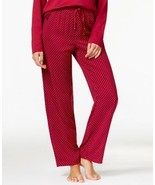 Nautica Dot Print Pajama Pants  (Beet Red, S) - $32.57