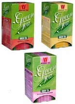 Wissotzky Herbal Green Tea, Trio pack- Apple Cinnamon, Citrus Fruit, Wildberry   - $18.25