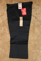 "DICKIES Girls Jr Navy Uniform Capri Sz 15 Boot Cut Waist 36"" x Inseam 21... - $14.80"