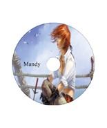Pirate Girl Custom DVD Cover on 4.7 GB Blank DVD-R - $6.00
