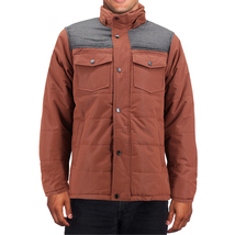 Men's Heavyweight Water And Wind Resistant Removable Hood Insulated Jacket image 14