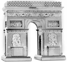 Metallic Nano Puzzle Etoile Arc de Triomphe Tenyo High quality metal model - $36.47