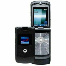 2019 ORIGINAL Motorola V3 Razr Jet Black 100% UNLOCKED Cell Phone WARRAN... - $39.45