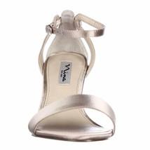 Nina Venetia Ankle Strap Dress Sandals Champagne 8 5 Us