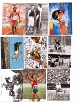 1996 UPPER DECK 20 CARD OLYMPICS LOT JENNER  LOUGANIS - $0.99