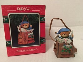Enesco: Beary Merry Mailman Treasury of Christmas Ornament - $8.00