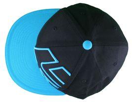 Etnies Chevy 210 Fitted Flex Fit Black Cyan Blue Hat Size: L/XL image 6