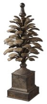 Uttermost 26-1/2 by 10-1/2 by 10-1/2-Inch Suzuha Finial, Rustic - $217.80
