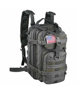 Small 30L Rucksack Military Tactical Backpack Flag Patch Outdoors Bug Ou... - $63.27