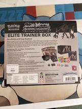 Burning Shadows Elite Trainer Box New Sealed Pokemon Sun & Moon TCG image 2