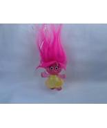 2015 DreamWorks Trolls Glitter PVC Collectible Figure - Pink Hair - $3.71
