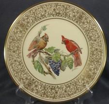 Cardinal Lenox Boehm Birds Decorative Plate 1976 Handcrafted Limited  - $49.95