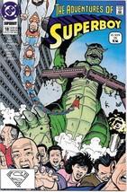 The Adventures of Superboy Comic Book #18 TV DC Comics 1991 VERY FINE UN... - $2.25