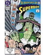 The Adventures of Superboy Comic Book #18 TV DC Comics 1991 VERY FINE UN... - $2.25