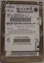 "NEW MHV2100AT Fujitsu 100GB 2.5"" 9.5MM IDE 44PIN Hard Drive Free USA Ship"