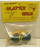 1970's vintage Balls on a string clacker Klatter  balls MIP - $125.00