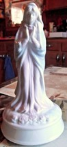 Vintage Arnart Porcelain Virgin Mary Musical Figurine - $18.69