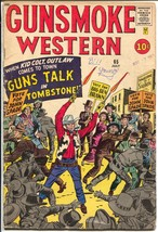 Gunsmoke Western #65 1961-Marvel-Jack Kirby-Kid Colt-Stan Lee-Don Heck-VG- - $56.75